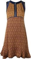 3.1 Phillip Lim damask print dress - women - Silk/Acetate/Viscose - 4