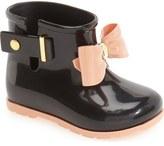 Mini Melissa 'Mini Sugar' Rain Boot (Walker & Toddler)