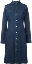 Polo Ralph Lauren denim shirt dress - women - Cotton/Spandex/Elastane - 6