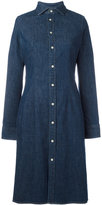 Polo Ralph Lauren denim shirt dress - women - Cotton/Spandex/Elastane - 8