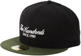 The Hundreds Script Snapback Black
