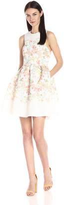 Erin Fetherston ERIN Women's Fit-and-Flare Floral Somerset Dress