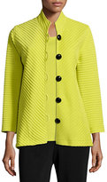 Caroline Rose Wool Ottoman Easy Jacket, Petite
