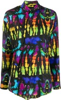 DSQUARED2 psychedelic print shirt