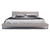 Modloft Leather Chelsea Platform Bed