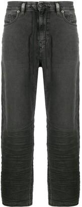 Diesel Drawstring Wide-Leg Jeans