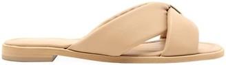 Schutz Fairy Padded Leather Sandals
