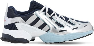 adidas Eot93 Mesh & Metallic Leather Sneakers