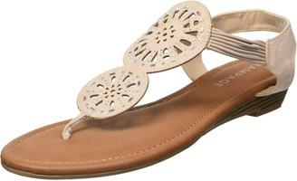 Rampage Women's Ram-Candia Flat Sandal