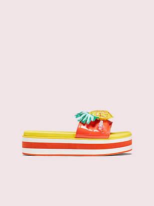 Kate Spade Limoncello Platform Slide Sandals