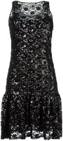 MICHAEL Michael Kors sequined floral dress - women - Polyester/plastic - XS