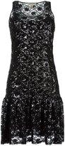 MICHAEL Michael Kors sequined floral dress - women - Polyester/plastic - XS