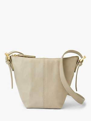 John Lewis & Partners Kepley Leather Small Cross Body Bag