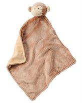 Carter's Baby Girls/Boys' Monkey Security Blanket, One