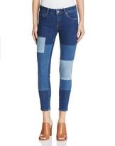 Mavi Jeans Adriana Icon Ankle Jeans in Blocking Indigo - 100% Exclusive