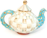 Mackenzie Childs MacKenzie-Childs Parchment Check Teapot