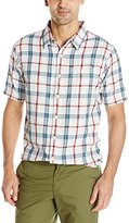 True Grit Men's River Plaid Short Sleeve Shirt