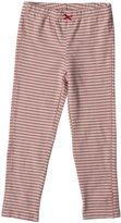 Pink Chicken Leggings (Toddler/Kid) - Desert Rose Stripe-2 Years