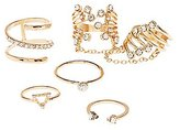 Charlotte Russe Embellished Stackable Rings - 5 Pack