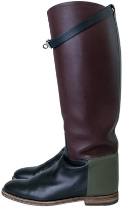 Hermã ̈S HermAs Jumping Multicolour Leather Boots