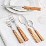 Dubost Olive Wood Flatware, 20-Piece Set