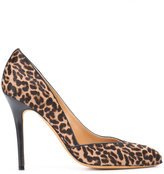 Alexa Wagner leopard print pumps - women - Leather/Calf Hair - 37