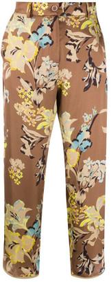 Seventy Flower Print Trousers