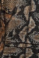 Tracy Reese Printed Jersey Matte/Slink Dolman T