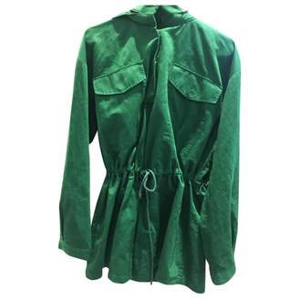 And other stories & & Stories Green Cotton Jacket for Women