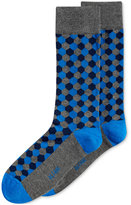 Alfani Hexagon Crew Socks, Only at Macy's