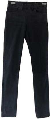 Acne Studios Anthracite Cotton - elasthane Jeans for Women
