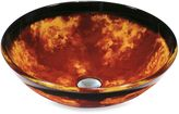 Bed Bath & Beyond Vigo Fusion Vessel Sink in Red/Yellow
