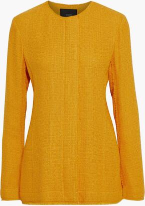 Joseph Jerra Frayed Boucle-tweed Jacket