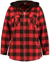 City Chic CHECK MATE Summer jacket red