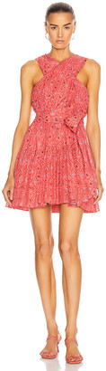 Ulla Johnson Arisa Dress in Hibiscus | FWRD