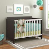 Altra Willow Lake Espresso and White Crib by Cosco