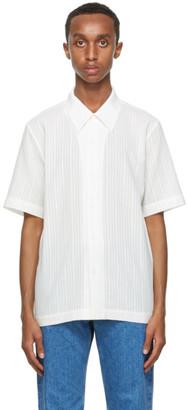 Séfr White Linen Formal Shirt