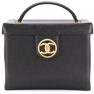 Chanel Pre Owned 1990s CC vanity case