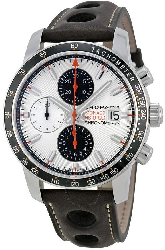 Chopard Grand Prix de Monaco Historique Silver Dial Men's Watch