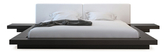 Modloft Worth Platform Bed with Matching Nightstands