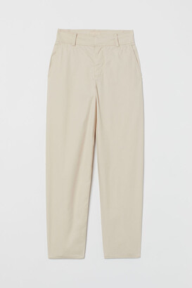 H&M Pima Cotton Chinos - Beige