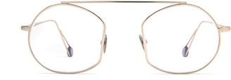 AHLEM Place Des Victoires Optic Grey Gold Glasses