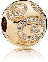 Disney Mickey Mouse Gold Swirl Charm by PANDORA