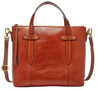Fossil Felicity Satchel Handbags Medium Brown