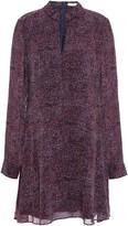 Derek Lam 10 Crosby Printed Georgette Mini Dress