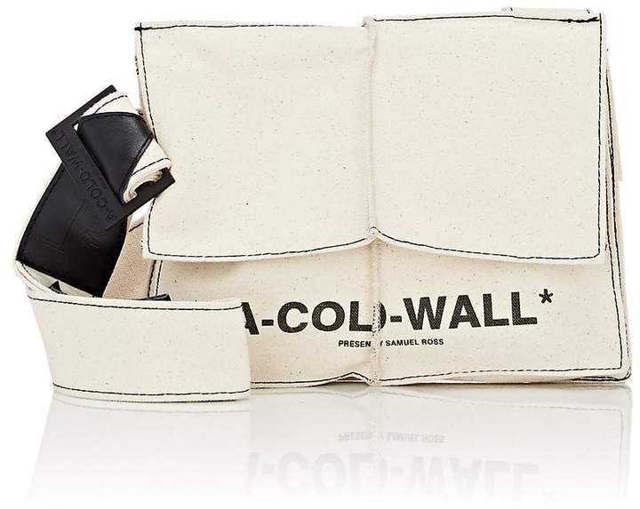 A-Cold-Wall* Men's Canvas Crossbody Bag