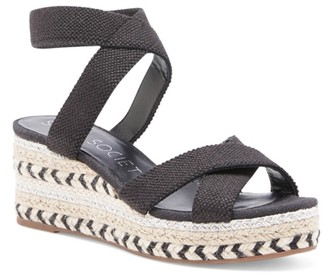 Sole Society Carmelina Espadrille Wedge Sandal