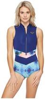 Roxy Pop Surf Sleeveless One-Piece Swimsuit
