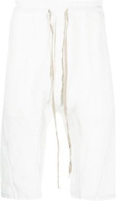 Isaac Sellam Experience Drop-Crotch Drawstring Shorts