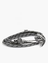 Miansai Grey Silver-Plated Anchor Bracelet